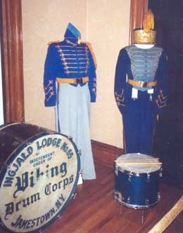 Viking Drum Corps. Uniforms